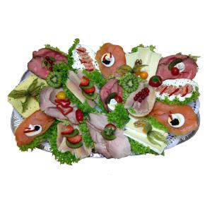 Schlemmer Brötchenplatte Lieferservice